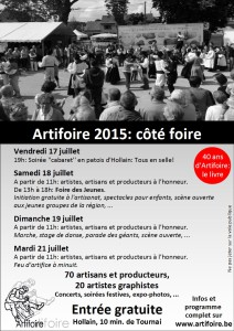 Artifoire-Flyer2015foire
