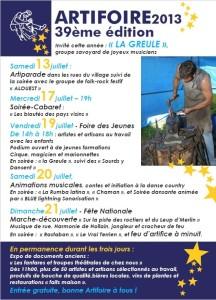 Artifoire2013-Flyer01